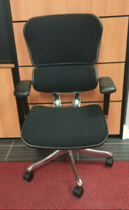 Eurotech ErgoHuman V2 Chair in Black Fabric at Blowout Pricing!