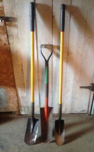pelle à drain Spade drain other tools for sale fork marteau
