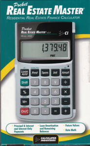 Real Estate Master Calculator (brand new)