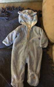 Infant boys snowsuit, 12 months