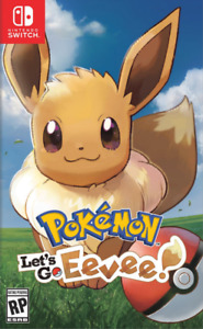 New In Box POKEMON LET'S GO EEVEE Game For NINTENDO SWITCH