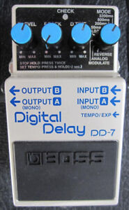 Boss DD-7 Digital Delay 40 Second Looper with Unlimited Overdubs