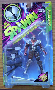 MCFARLANE TOYS : SERIES FIVE (1996) - NUCLEAR SPAWN FIGURE