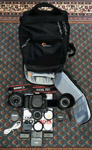 CANON EOS 70D GENTLY USED KIT