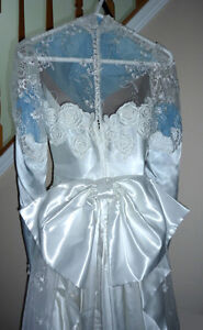 """Wedding Dress in Excellent Condition:Boxed:size 26"""" waist Cambridge Kitchener Area image 3"""