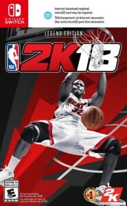 NBA 2K18 Legend Edition  for switch