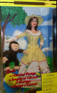BARBIE AND CURIOUS GEORGE