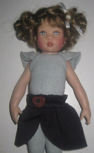 2005 Helen Kish Riley Doll Elementary Brown Curly Hair
