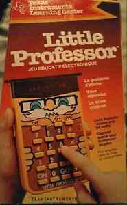 Vintage Texas Instruments Little Professor Learning Aid in box Strathcona County Edmonton Area image 1