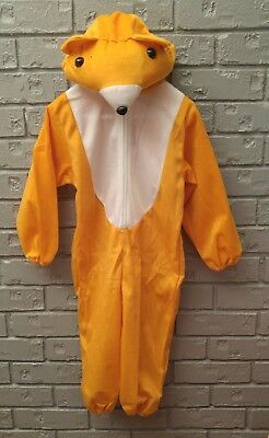 Childs/Toddler 1-3 Year Old Size Small Bear Costume Golden Halloween One Piece - 1 Year Old Costume