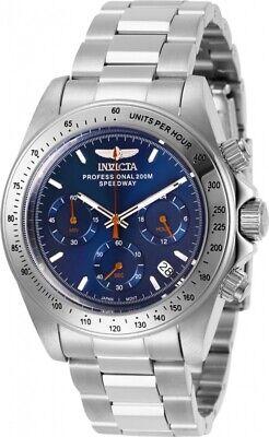 Invicta Men's 27770 Speedway Quartz Chronograph Navy Blue Dial Watch