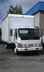 2007 GMC W4400 Cargo Truck