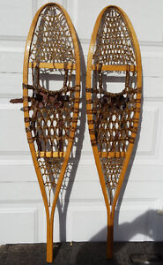 Brand new GV traditional 10 X 46 wood snowshoes – Raquettes bois Gatineau Ottawa / Gatineau Area image 5