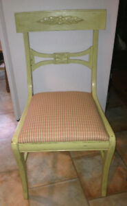 Vintage Refinished Accent Chair