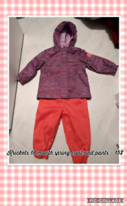 Krickets girls spring jacket and pants