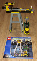 Lego Cargo Crane World City Trains 4514