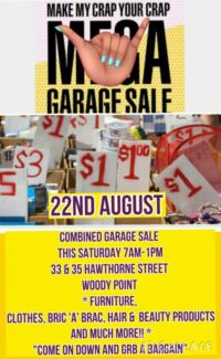 COMBINED GARAGE SALE  Woody Point Redcliffe Area Preview