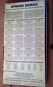 SUPERSTAR BASEBALL 1974 SPORTS ILLUSTRATED BOARD GAME GIANTS BOX West Island Greater Montréal image 2