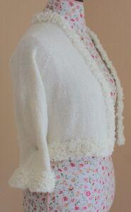 Wedding Bolero Kate Middleton Sweater Blend of Goat Angora Edmonton Edmonton Area image 8