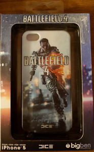 BRAND-NEW NEVER OPENED BATTLEFIELD 4 IPHONE 5 HARD CASE $10.00