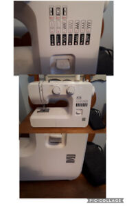 VARIOUS items for sale (clothing, books, sewing machine)