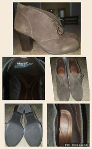 Naturalizer brown suede ankle boots
