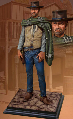 COLLECTORS SHOWCASE CS60011 CLINT EASTWOOD THE GOOD THE BAD AND THE UGLY STATUE
