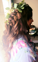 Mobile updo artist for events