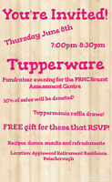 Tupperware Cares Fundraiser for PRHC Breast Assessment Centre