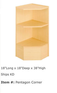 Corner Counter Shelf Units For Sale Brand New