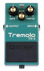 Boss Tremolo TR-2 Guitar Pedal