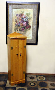 Perfect Petite Knotty Pine Jam Cupboard SEE VIDEO