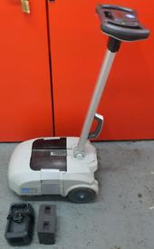Ice scrub cordless lightweight lithium battery floor scrubber dryer