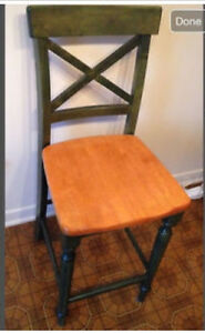 Wood Chair from Pier 1