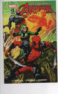UNCANNY AVENGERS #1-9 NM/NM+ (2016) DEADPOOL CABLE SPIDER-MAN