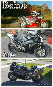 Custom motorcycle refinishing!! Great prices