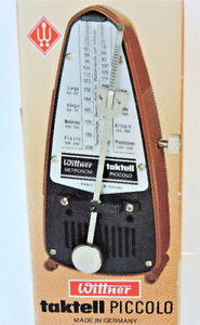 Wittner 834 Taktell Piccolo Metronome, Ruby New in Box