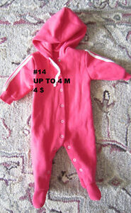Baby girl clothes 0 to 3 months. London Ontario image 1