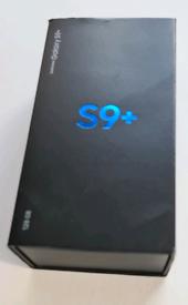 SAMSUNG S9 PLUS 128GB SM-G965f With Original Box & Unused Accessories