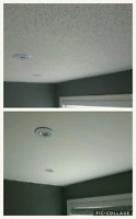 Popcorn Ceiling Removal - 705-716-5862