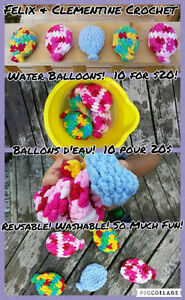Water Balloons! Reusable and Washable! So much fun!