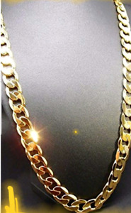 24k gold plated brand new never worn 28 inch chain 18mls of 24k