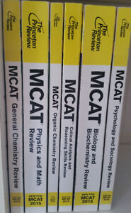 The Princeton Review MCAT set for sale- Fees negotiable