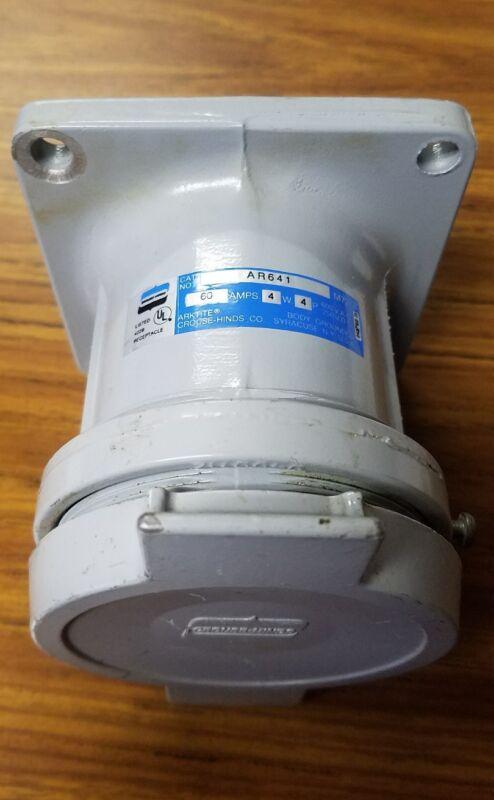 Crouse Hinds AR641 60 amp acp6044