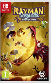 Rayman Legends Definitive Edition Ninetendo Switch Game