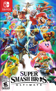 New In Box SUPER SMASH BROS. ULTIMATE Game For NINTENDO SWITCH