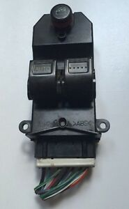 Honda Civic 2 Door Master Window Switch Control Left Driver Side