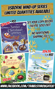 Usborne Wind-up books and more