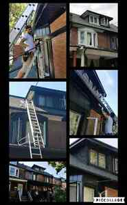 Eavestrough repairing and installing services Cambridge Kitchener Area image 1