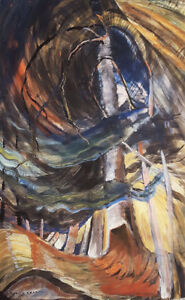 "Limited Edition Emily Carr ""Spiralling Upwards"""